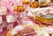 Pink and Gold Theme