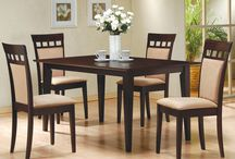 Dining Sets, Kitchen Table Sets / Choose Ashleydeals.com for affordable, quality regular height wood and metal dining sets in the latest design styles. We offer kitchen table sets, round dining sets, square dining sets, rectangular dining sets, in nearly every shape and finish style. http://www.ashleydeals.com/dining-sets.html
