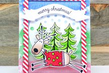 Chameleon Pens Christmas Cards and Projects / Create beautiful Christmas Cards, gift tags, Christmas tree ornaments and Lots more Holiday Decorations using Chameleon Pens