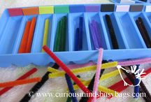 Homeschool--Busy Bags and Tot Trays / by Chrissy