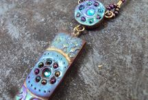 Enchanting Jewelry / A collection of pieces made for my online shop, Jewels of Enchantment / by Rebecca Hadley