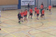 HV Kras Volendam Noah trainen en handbal / HUP KRAS VOLENDEAM BAM BAM BAM