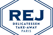"REJ / A shop window looking out onto Avenue de l'Opéra, alongside the Nolinski and its Brasserie Réjane. REJ delicatessen and takeaway offers locals and travellers a fine selection of gourmet products representing ""French savoir-faire"".  14 avenue de l'Opéra 75001 Paris"