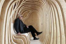 structure bois intérieur