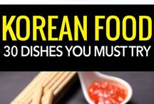 Foods from all over the world <3