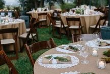tables for wedding