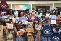 Lancement de la Distribution de kits scolaire
