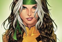 Rogue / Anna Marie Darkholme, daughter of Mystique and sister of Nightcrawler