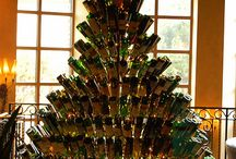 Wine bottles recycled