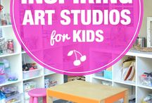 Creative Space Inspiration / Inspiring artist studios and creative spaces.