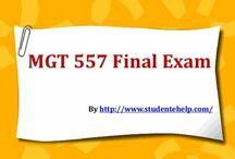 MGT 557 Final Exam