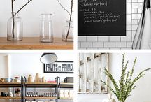 Home Interior Style / A collection of photos inspiring the overall look and feel for our home.