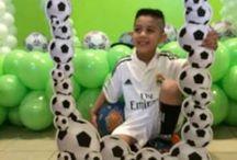 Reuben's football party