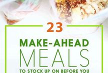 Freezer meals / by Stephanie
