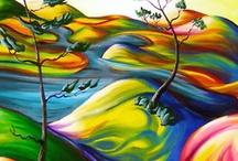 Maľby a kresby
