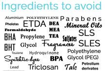 Know the content of your skincare / Good and bad ingredients for your skin care