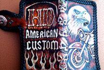 American Custom Long Wallet
