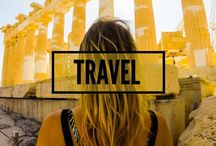 TRAVEL! / A board with photos from our travels :)