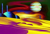 Cosmic Landscapes with Stacks