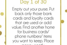 Simpler 30 Day Organizing Challenge