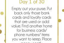 Simpler 30 Day Organizing Challenge