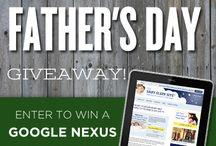 Father's Day Giveaway / Father's Day giveaway from The Baby Sleep Site!