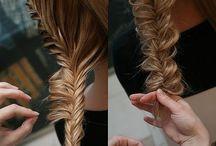 braded hair