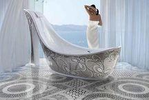 Badekar / Smukke badekar og badeværelses inspiration