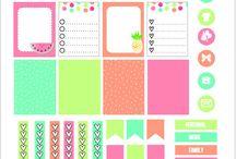 happy planner printable's