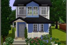 Sims 3 houses / Sims 3