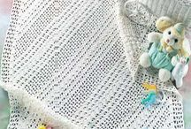 Crochet Mantas y mantillas