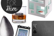 Gifts for Him / It easier to get something for women but when it comes to gifts for men, it is not so easy. Some gift ideas for him are pinned to this board.