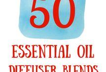 Essential oil-diffuser recipes
