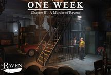 "The Raven - Legacy of a Master Thief / ""The Raven – Legacy of a master thief"" is a thrilling crime adventure in three episodes from the creators of ""The Book of Unwritten Tales"". Full of twists and turns, it immerses you in both sides of the story, combining thrill-of-the-chase whodunit with the risk and reward of a heist story."