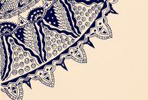 Zentangle by Nisha Thomas / My experiments in zentangling