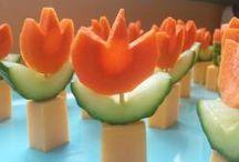 Fingerfood Gemüse + Obst + Käse + Fisch + Fleisch