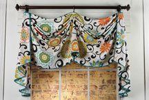Curtain topper