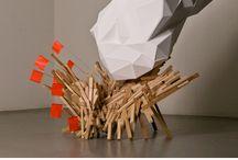 Conceptual sculpture /  INSTALLATION