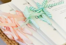 Programs / Wedding #reception and #ceremony programs / by Aisle Perfect - Wedding Blog