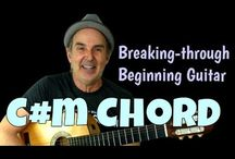 """Breakthrough Series / """"Breaking Through Beginning Guitar"""" series that's designed to help beginners break through some of the roadblocks that hold them back in the early stages."""