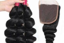 Bundles With Closure / Mink Hair Brazilian Bundles With Lace Closure Malaysia Bundles With Lace Closure Peruvian Bundles With Lace Closure Indian Hair Bundles With Lace Closure