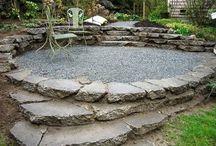 Cement bricks for patio