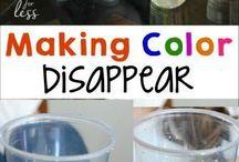 Color dissapear
