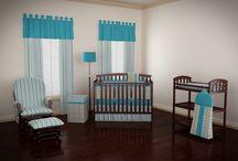 Blue & Teal Nurseries