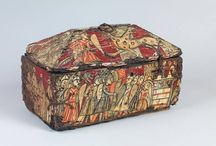 Medieval chests, caskets, etc.
