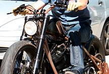 Bikes and motorcycles