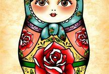 Madruschka tattoo