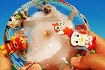 アンパンマン アニメ❤おもちゃ 大きな氷の中から脱出!の巻Anpanman toys
