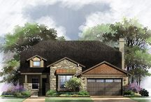 Models at Rancho Sienna / The Rancho Sienna Model Home Village is full of hill country inspired architecture, native landscaping, & great outdoor living options - visit today to find your hill-country dream home!
