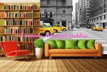 FOTOMURALES DC / Fotomurales DC es una compañia especializada en importación y distribución de fotomurales para decoración de paredes.